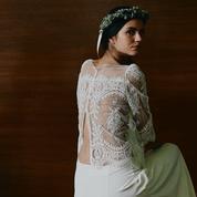 Laure de Sagazan donne un esprit rétro à sa collection de robes de mariée 2018