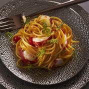 Spaghettini au homard
