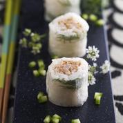 Spring rolls à la mousse de thon