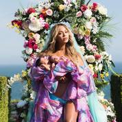 La première photo mystique de Beyoncé avec ses jumeaux