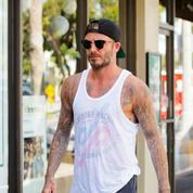 Le nouveau tatouage de David Beckham, en l'honneur de ses enfants