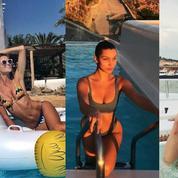 En vacances, les tops se dévoilent sur Instagram
