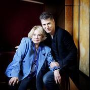 Jeanne Moreau et Etienne Daho :