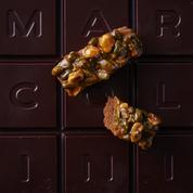 Brownie aux fruits secs & caramel
