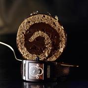 Gâteau roulé à la mousse pralinée