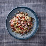 Salade de quinoa printanière