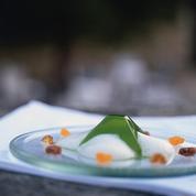 Thé à la menthe fraîche, émulsion de harissa
