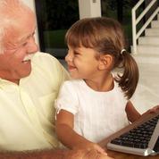 Grand-parent : trouver sa place auprès des enfants du web