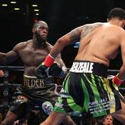 Le KO foudroyant de Wilder contre Breazeale à New York