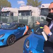 Ferrari, Aston Martin, Alpine : que trouve-t-on sur le parking des pilotes de Formule 1 ?