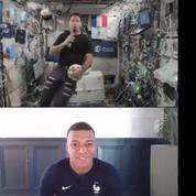 L'incroyable discussion de Kylian Mbappé avec un Thomas Pesquet... dans l'espace