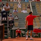 La colère de Federer contre Cilic et l'arbitre : «Tu penses que je suis lent ?»