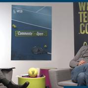 Le tennis de Patrick Bosso, commentateur inattendu de l'Open 13 Provence