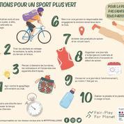 Un défi lancé aux sportifs pour réduire leur impact sur l'environnement