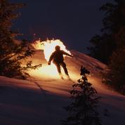 «Un skieur en feu» : une vidéo impressionnante pour sensibiliser au réchauffement de la planète