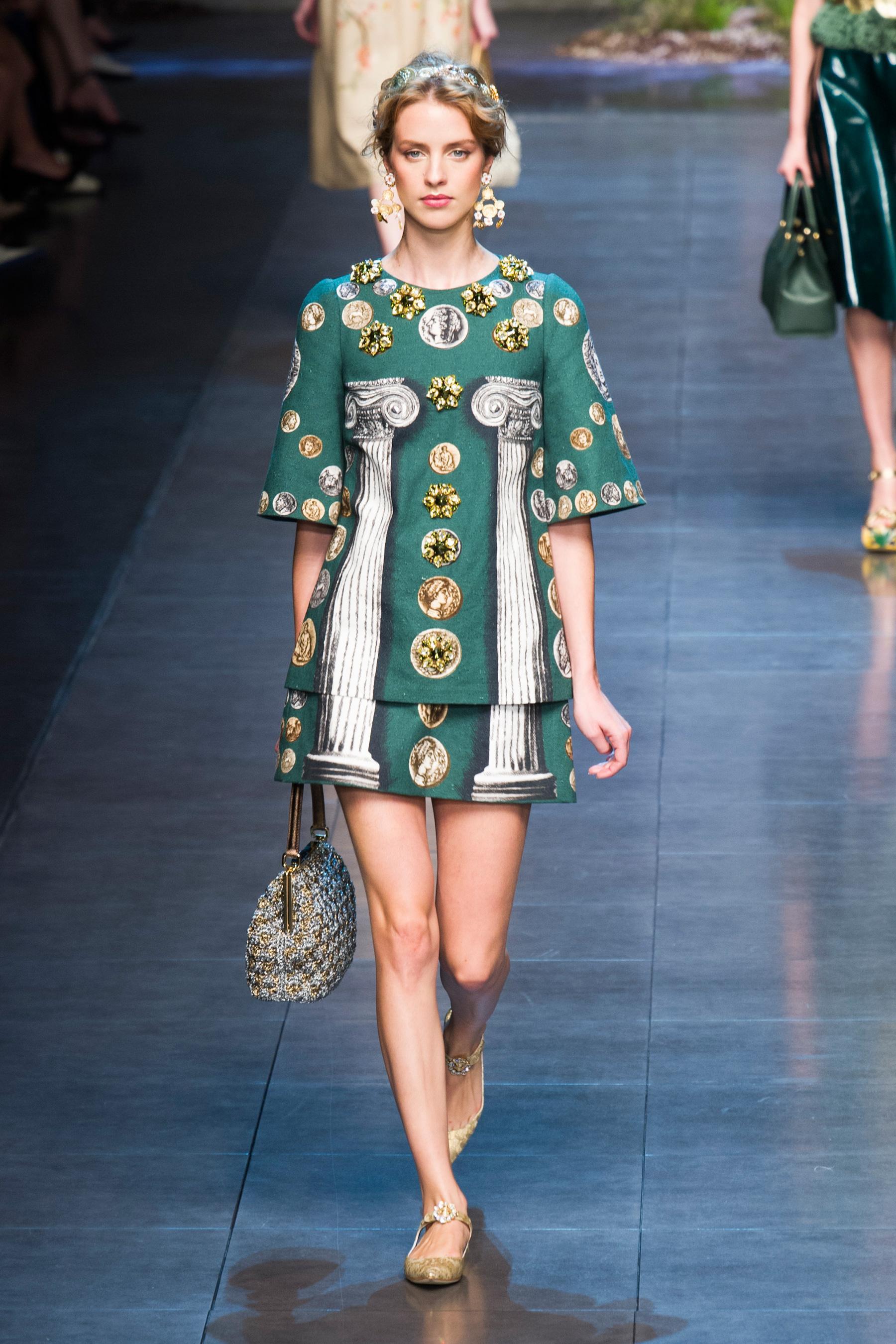 6da2e3122429 ... Défilé Dolce   Gabbana Prêt-à-porter Printemps-été 2014 photo 21 ...