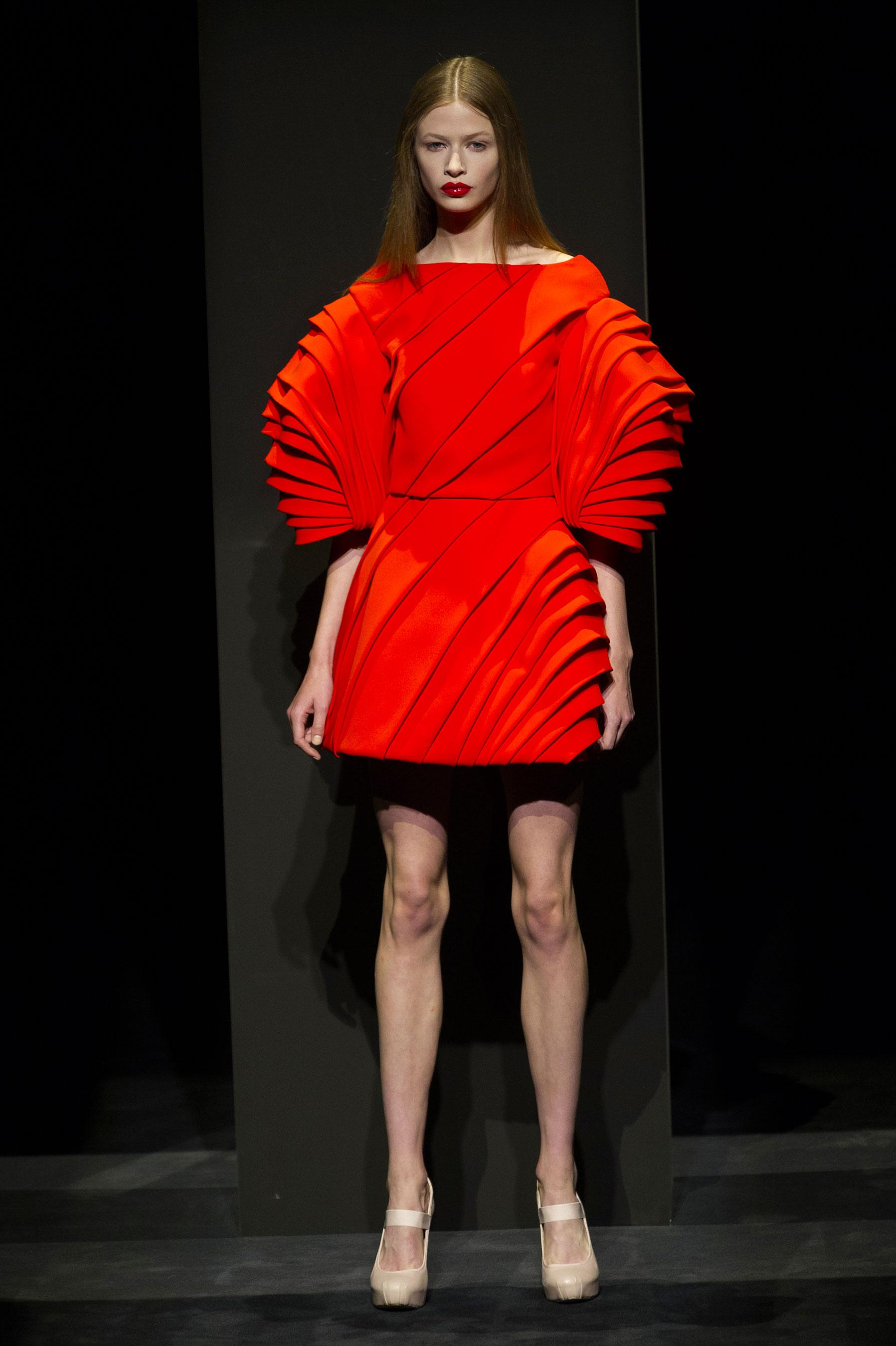 d fil dice kayek automne hiver 2014 2015 haute couture. Black Bedroom Furniture Sets. Home Design Ideas