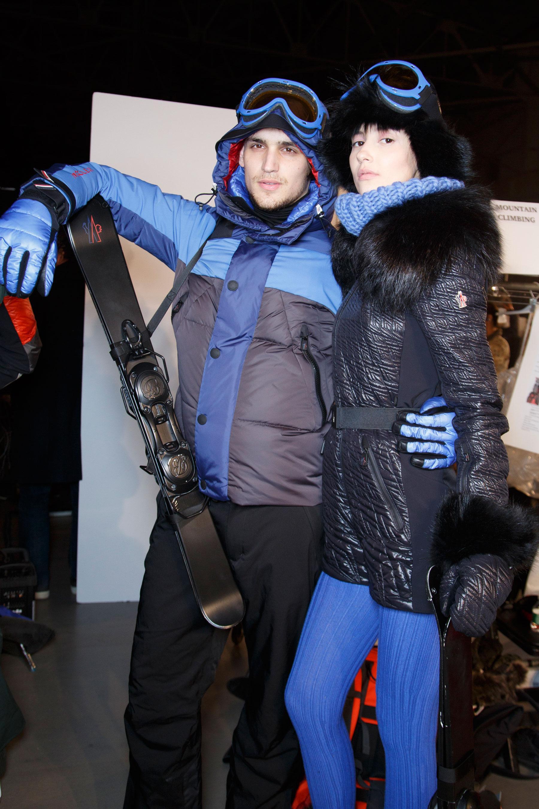 Backstage défilé Moncler Grenoble automne-hiver 2015-2016, New York -  Coulisses 18. f019be22d8b