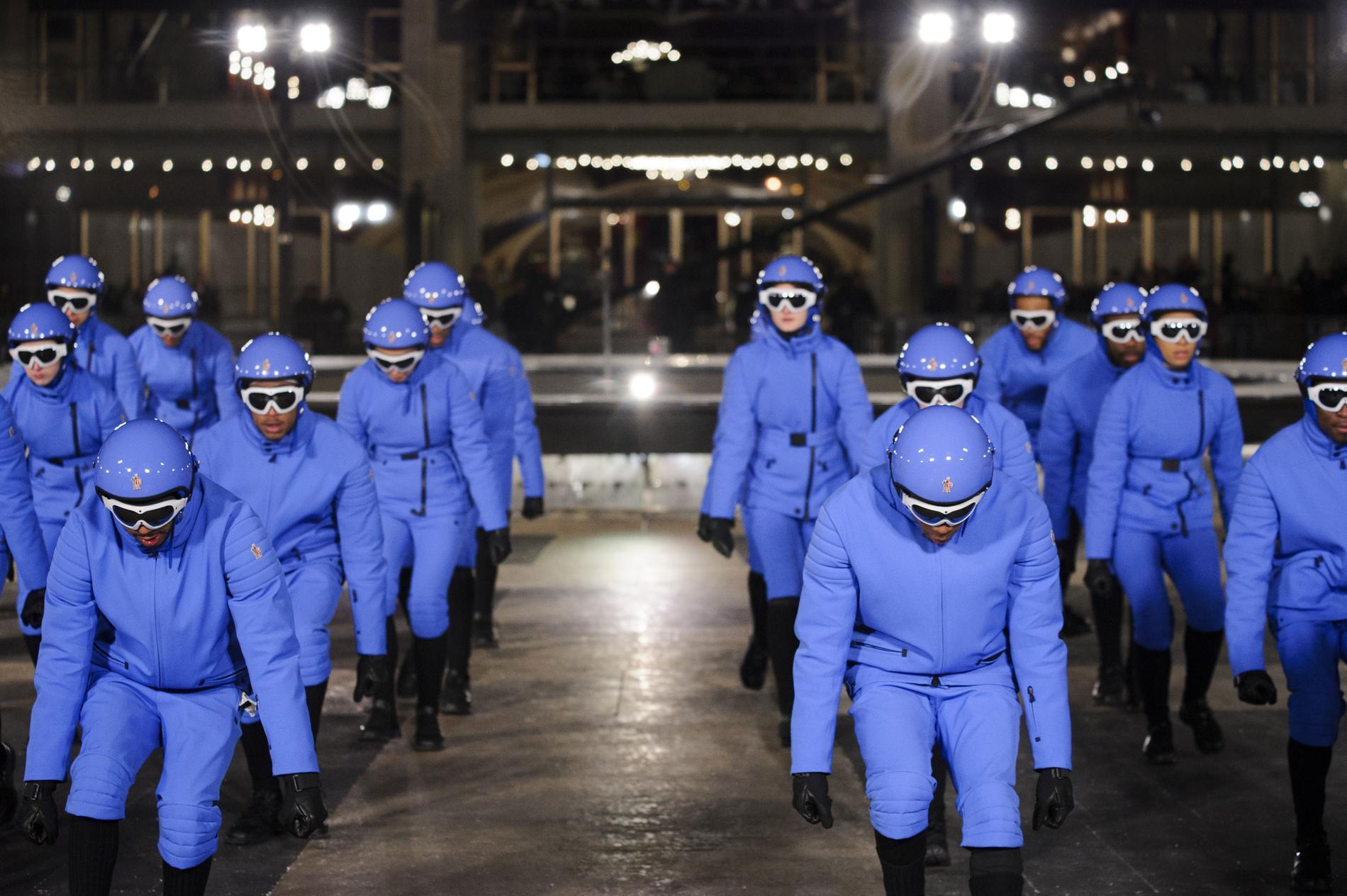 Défilé Moncler Grenoble automne-hiver 2016-2017, New York - Look 7. 6a604c55762