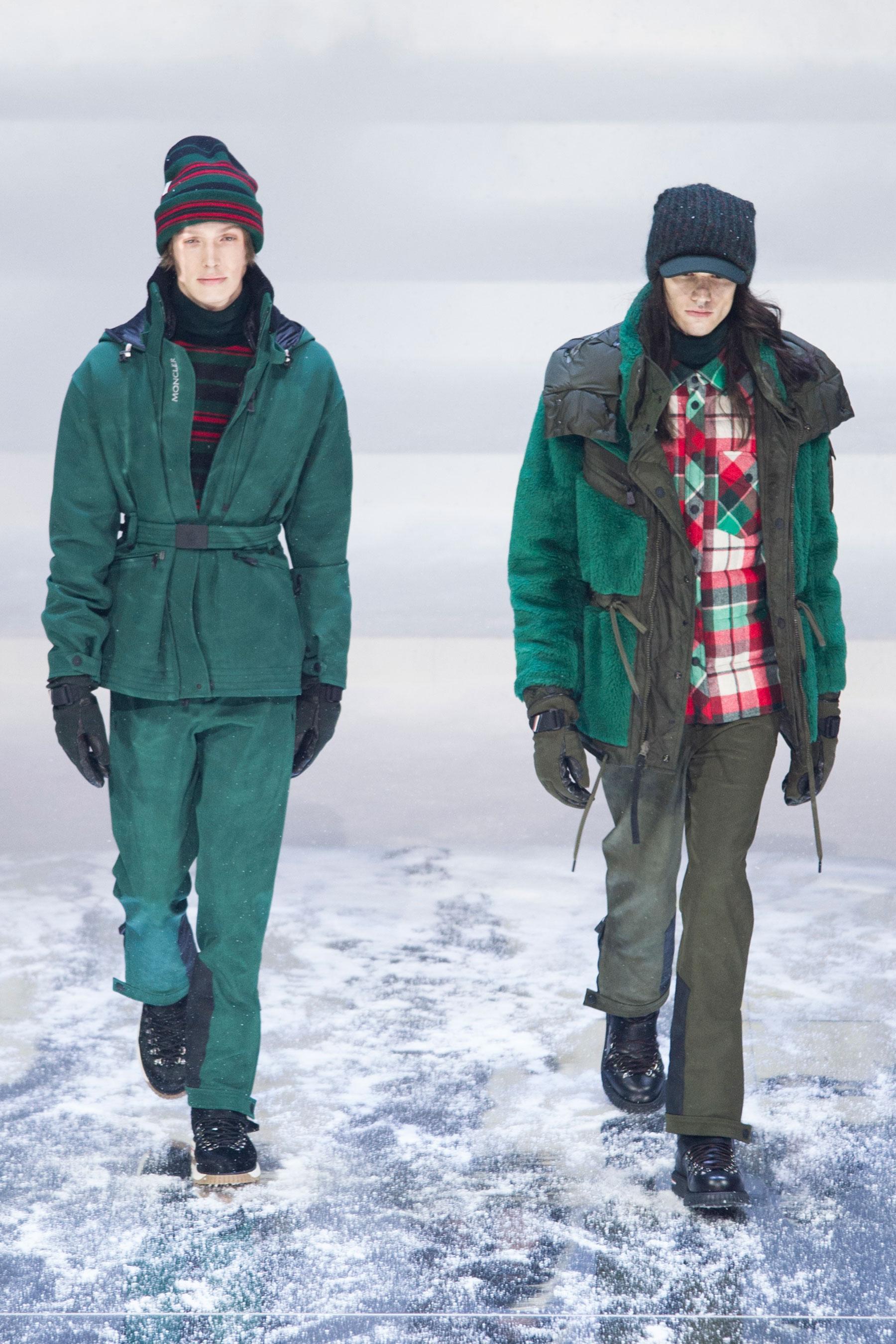 Défilé Moncler Grenoble automne-hiver 2017-2018, New York - Look 16. d7a4d86027d