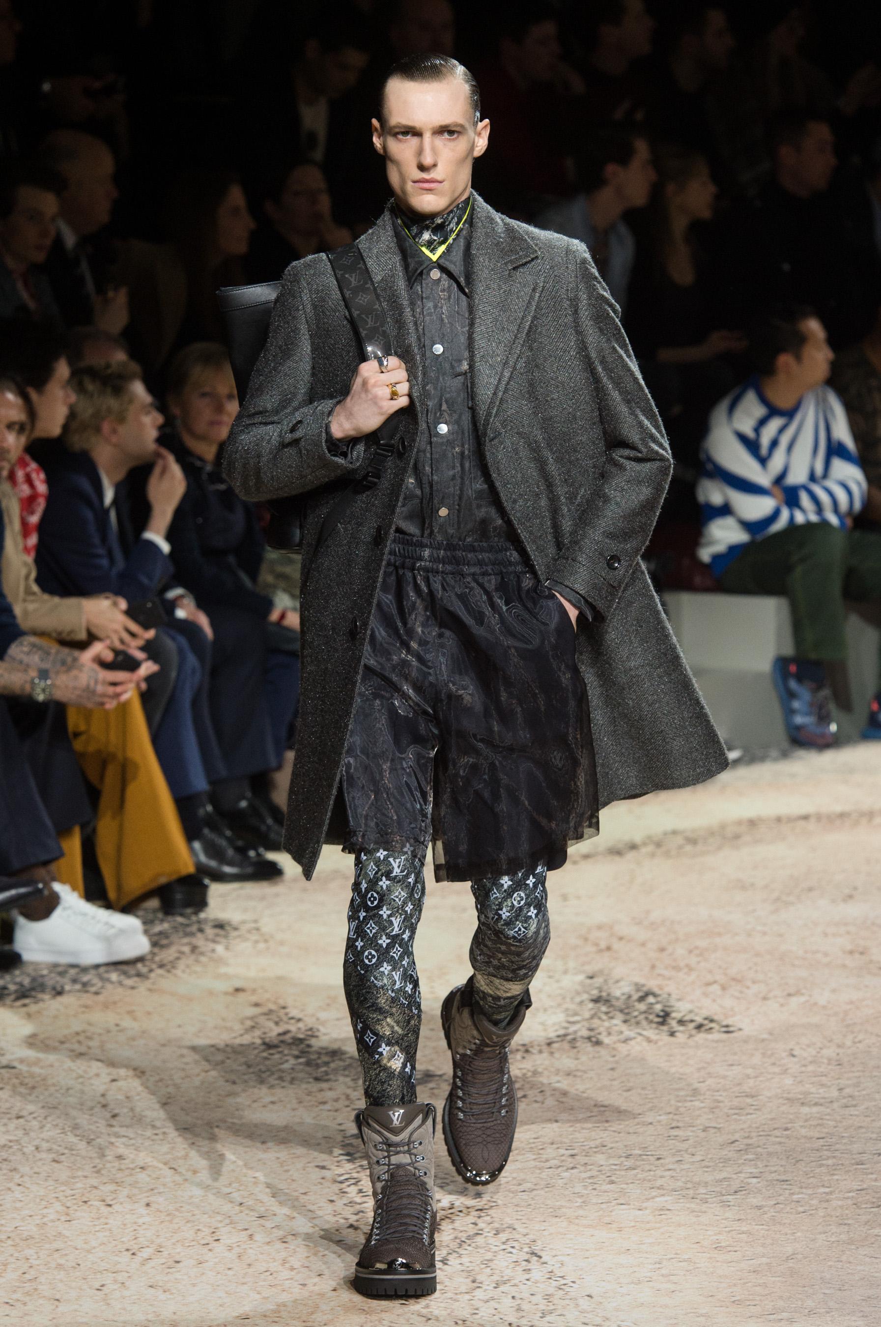 7870269fee1 Défilé Louis Vuitton automne-hiver 2018-2019 Homme - Madame Figaro