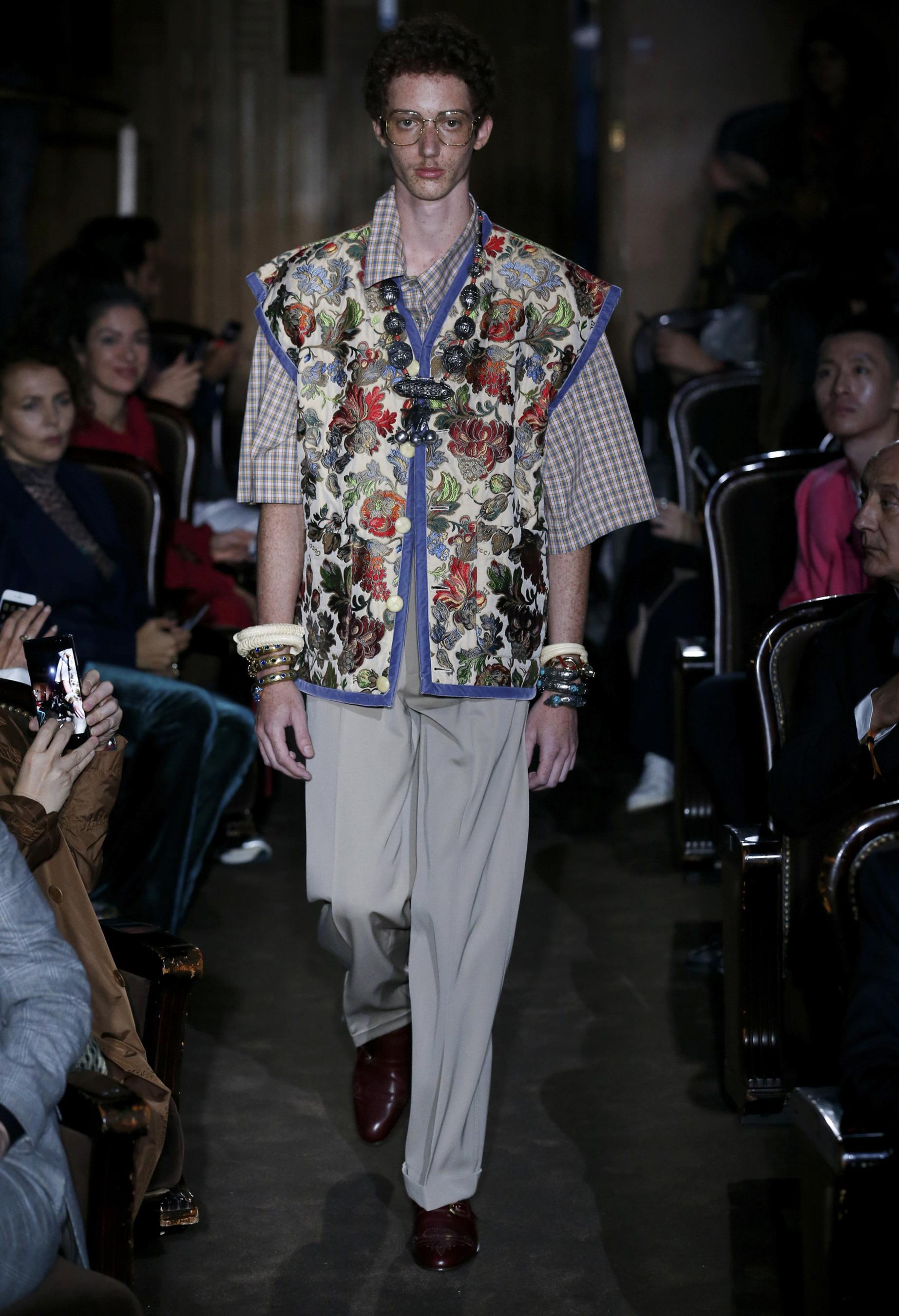 Défilé Gucci printemps-été 2019 Prêt-à-porter - Madame Figaro eb6ca177a93f