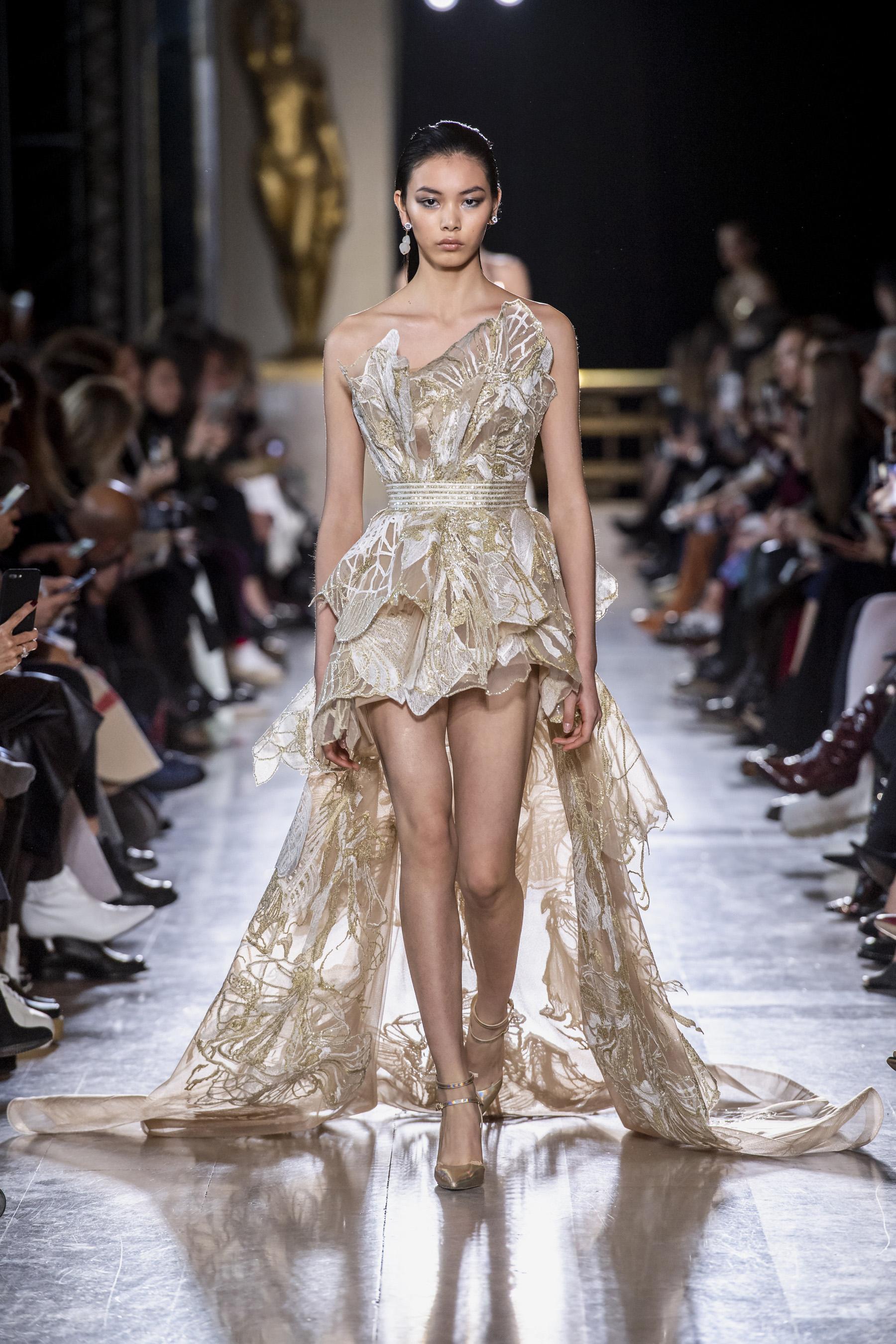 Défilé Elie Saab printemps-été 2019 Couture - Madame Figaro dc2fdc427ad