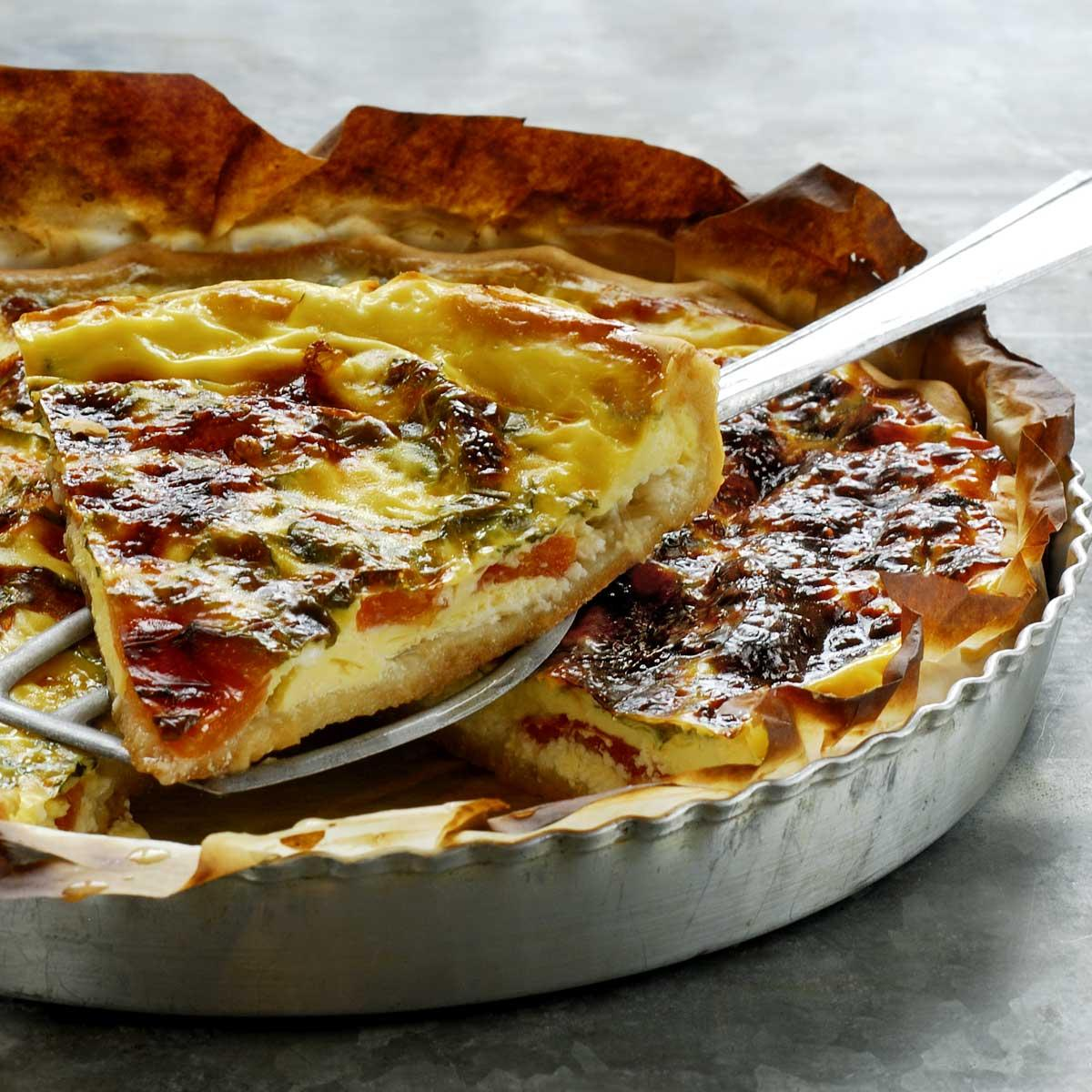 Recette quiche lorraine (sans lait) - Cuisine / Madame Figaro