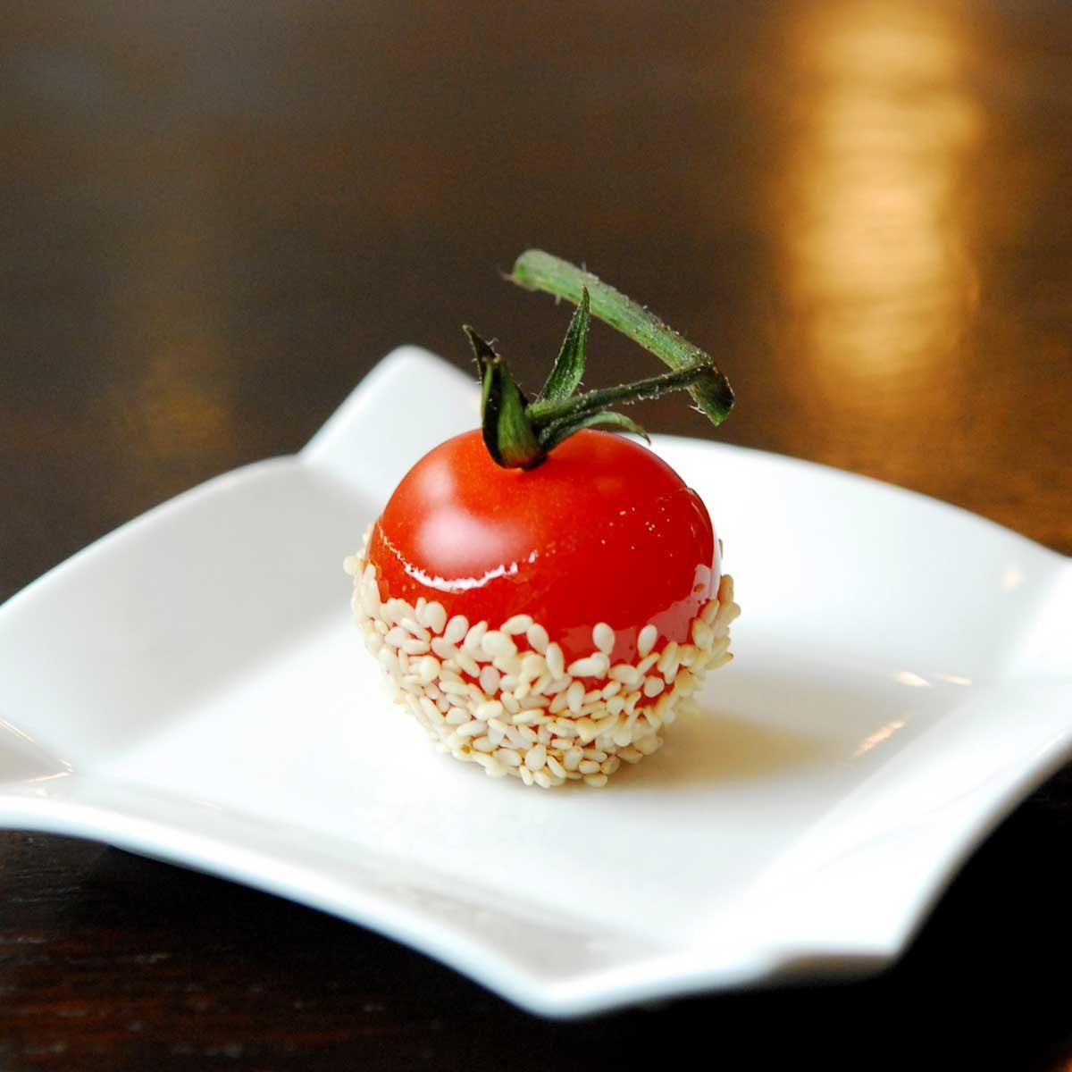 recette tomates cerises en pommes d 39 amour cuisine. Black Bedroom Furniture Sets. Home Design Ideas