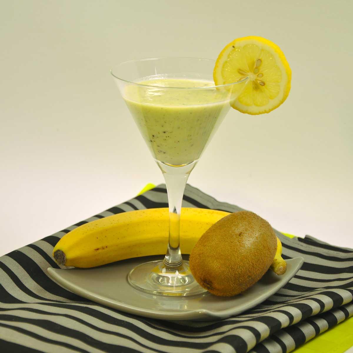 Recette Smoothie Banane Kiwi Cuisine Madame Figaro