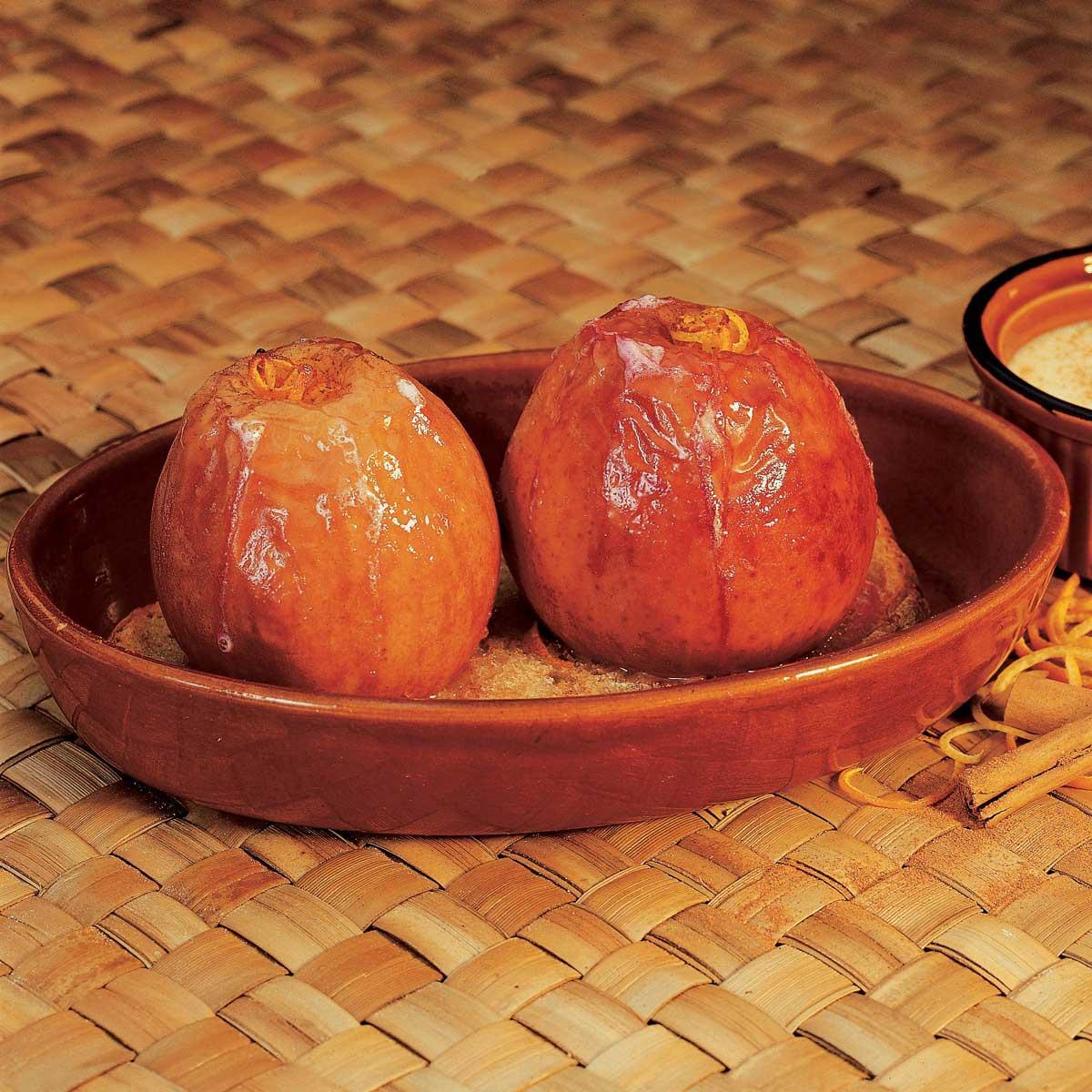 recette pommes grand m re cr me la cannelle cuisine madame figaro. Black Bedroom Furniture Sets. Home Design Ideas