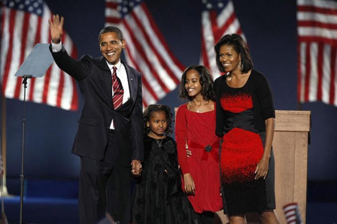 rencontre entre michelle et barack obama