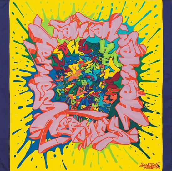 ... Hermès   les nouvelles formes du carré - Diaporama photo ... 23451bc83e5