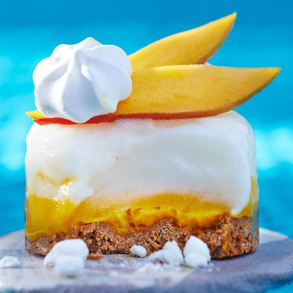 Recette cheesecake glacé - Cuisine / Madame Figaro
