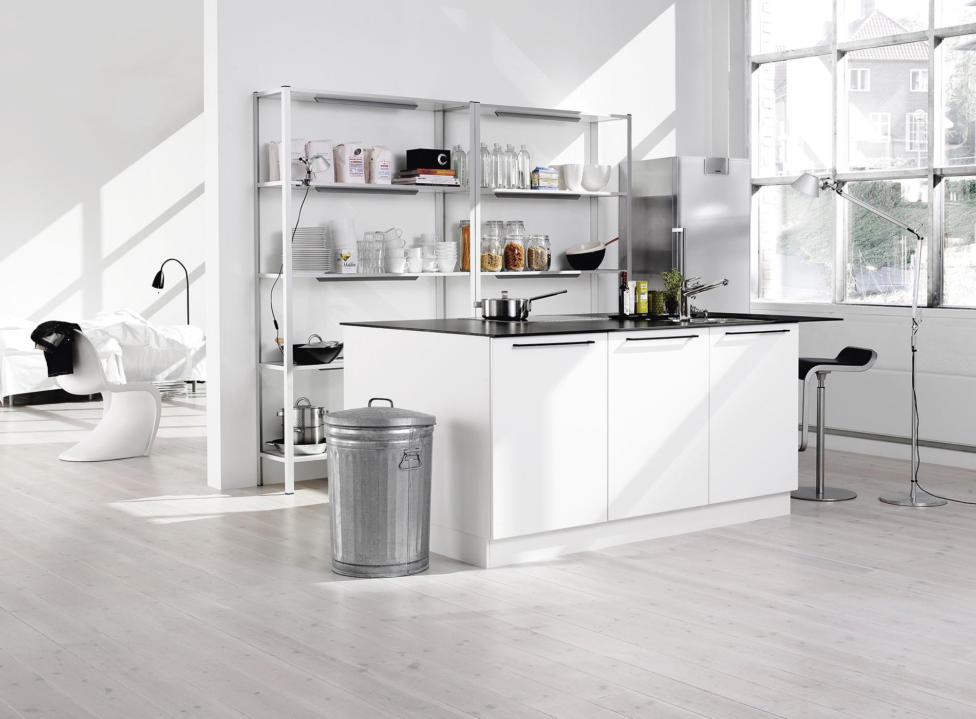 voir toutes les photos with cuisine scandinave design. Black Bedroom Furniture Sets. Home Design Ideas
