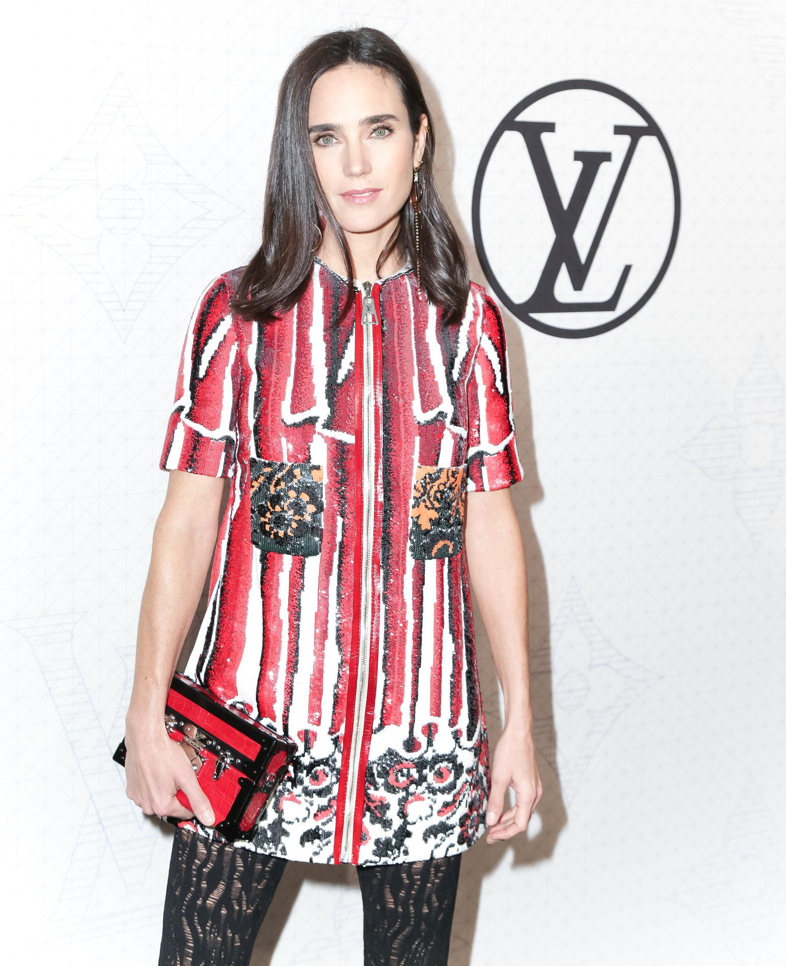 jennifer connelly g rie sixties de louis vuitton madame. Black Bedroom Furniture Sets. Home Design Ideas