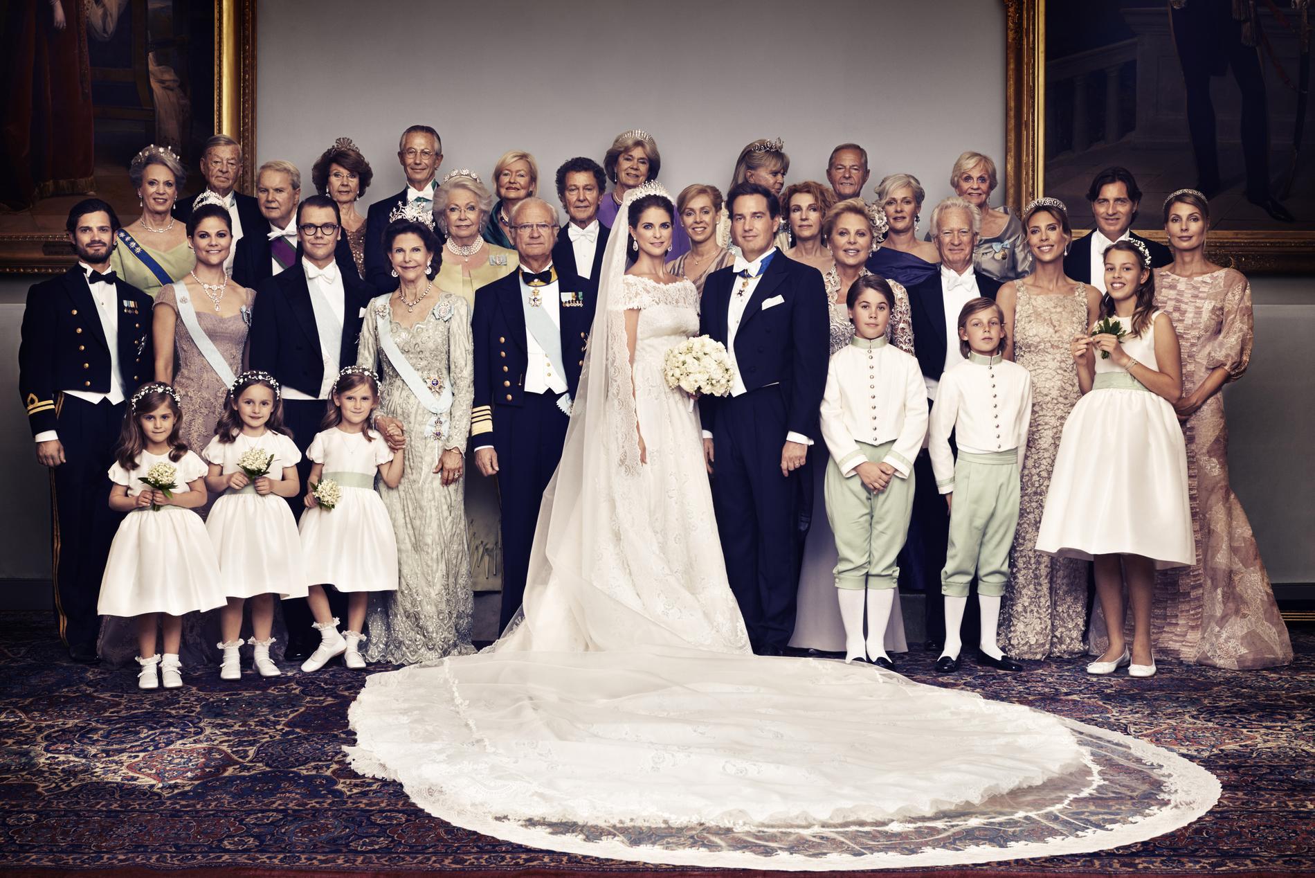 Real Weddings Com: Famille Royale De Suède : Retour Sur La Dynastie Des