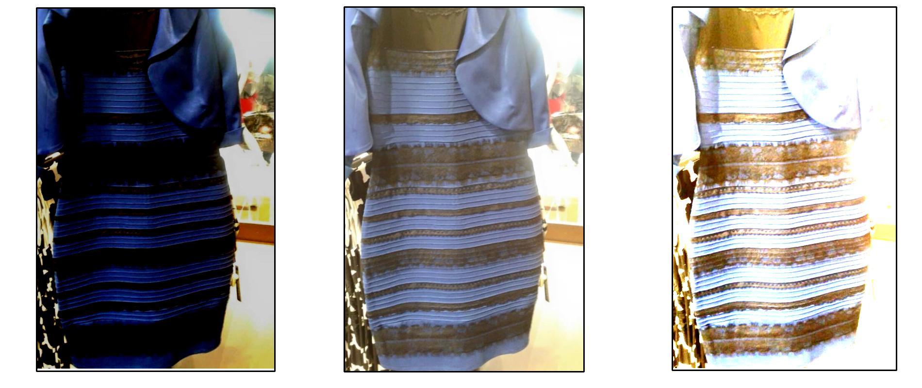 de quelle couleur est cette robe la question qui affole internet madame figaro. Black Bedroom Furniture Sets. Home Design Ideas