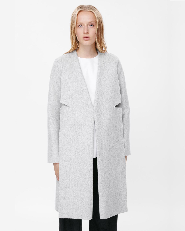 veste manteau femme ronde v tements l gants modernes. Black Bedroom Furniture Sets. Home Design Ideas