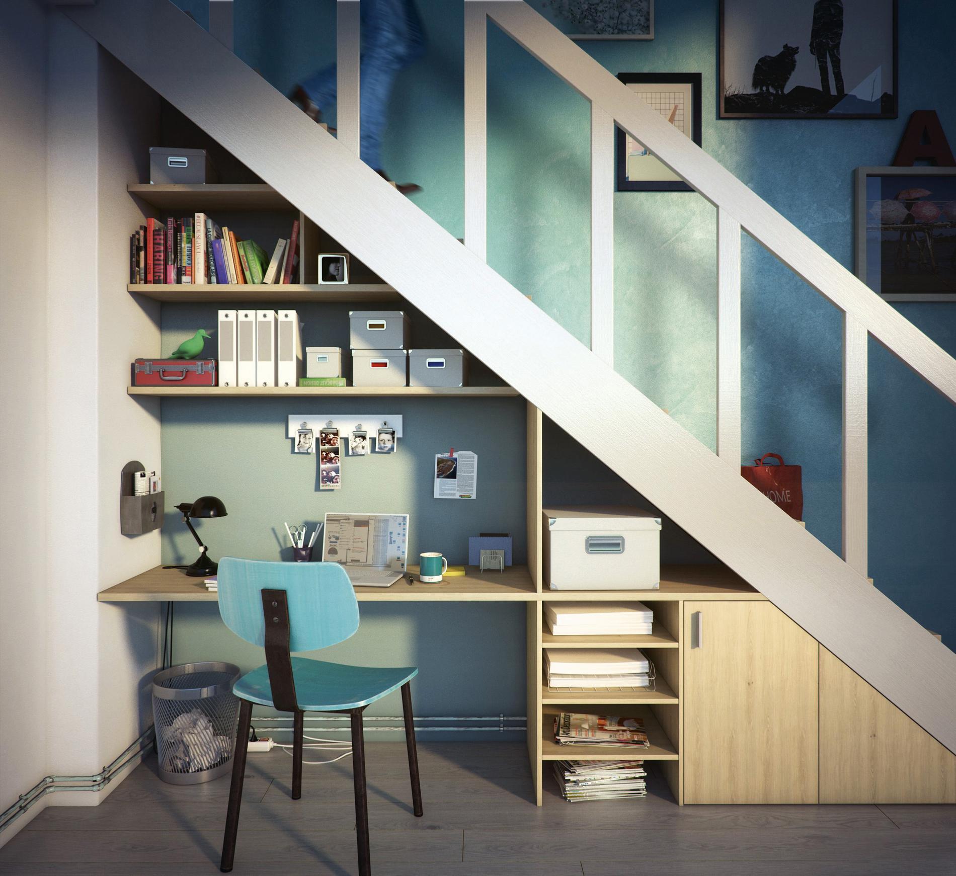 cinq astuces pour optimiser les espaces atypiques madame. Black Bedroom Furniture Sets. Home Design Ideas