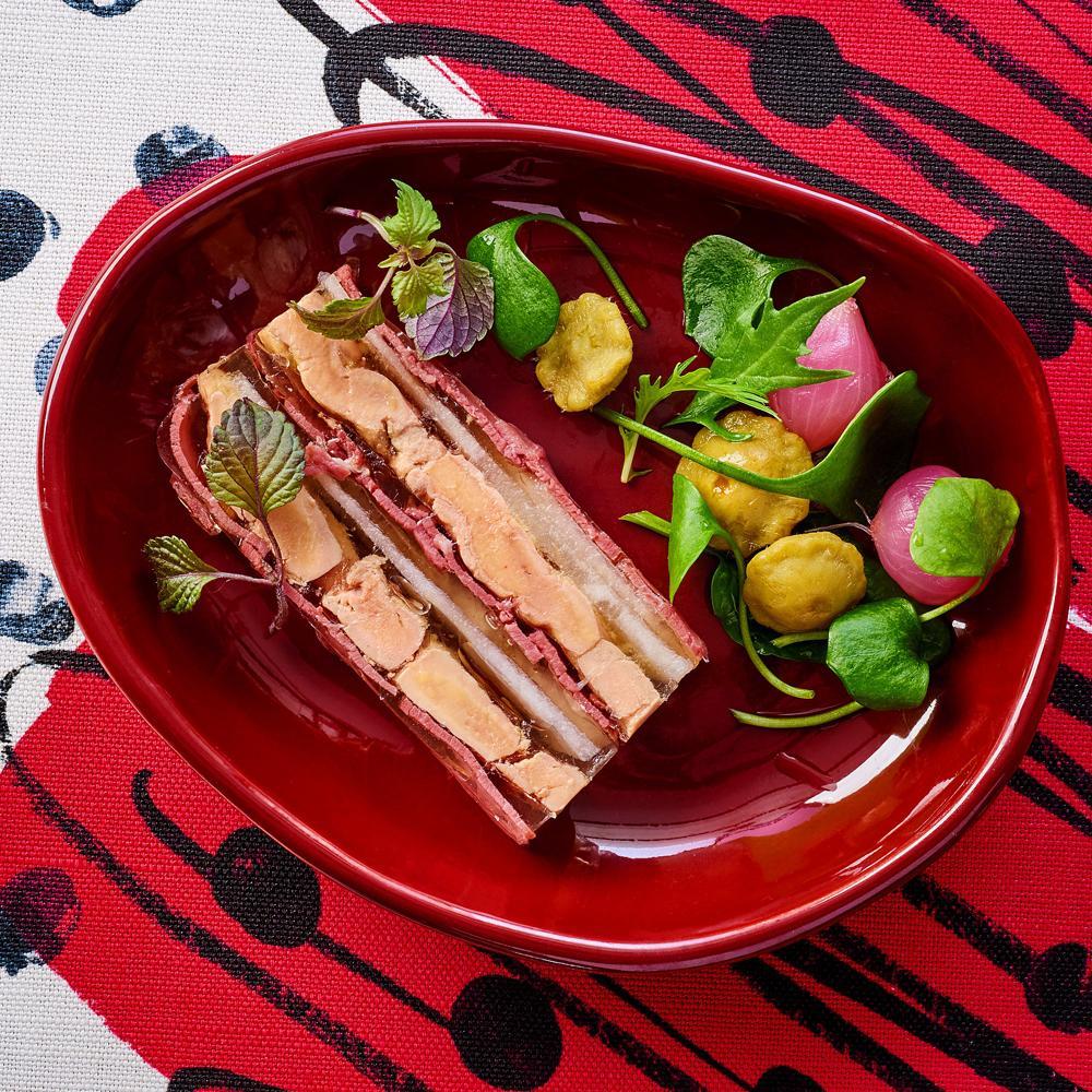 recette press de foie gras par joy astrid poinsot. Black Bedroom Furniture Sets. Home Design Ideas