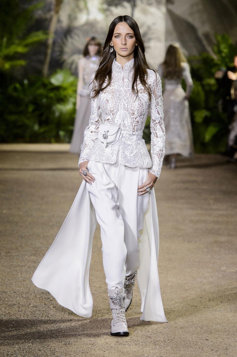 Mariage Exit La Robe De Mariee Oui Au Pantalon Madame Figaro