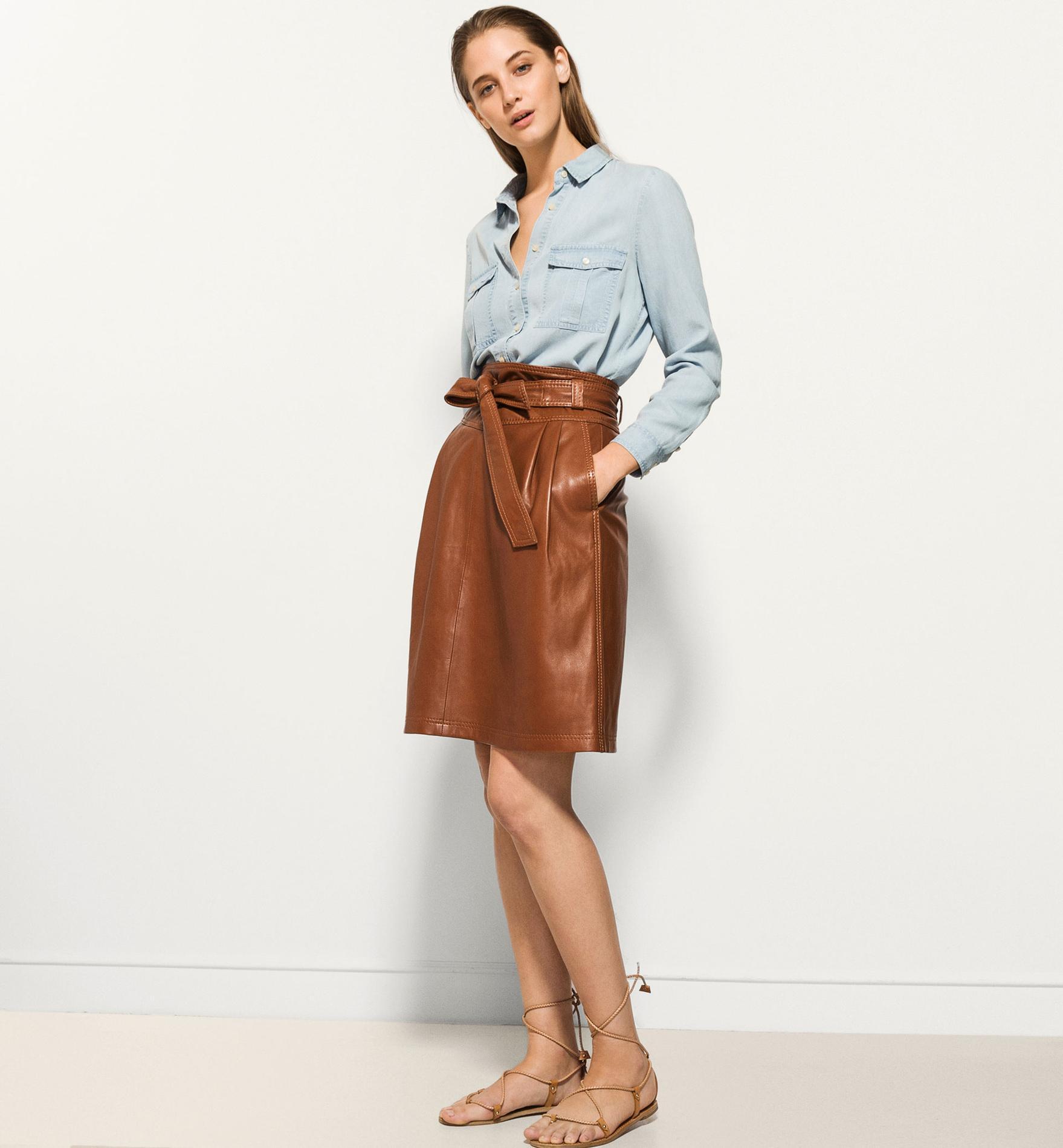 81f417130c5da ... choisir sa jupe en fonction de sa morphologie   la plissée par COS Bien  choisir sa jupe en fonction de sa morphologie   la midi par Zara Bien  choisir sa ...