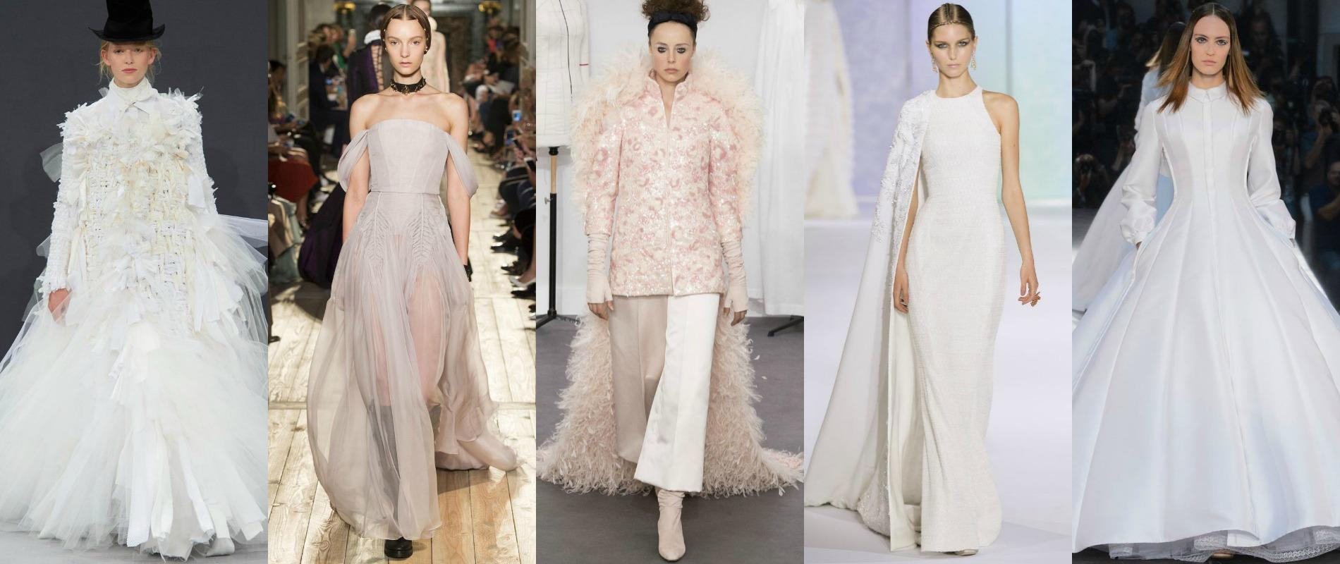 Haute Couture Des Robes De Mariee Sculpturales Et Feeriques
