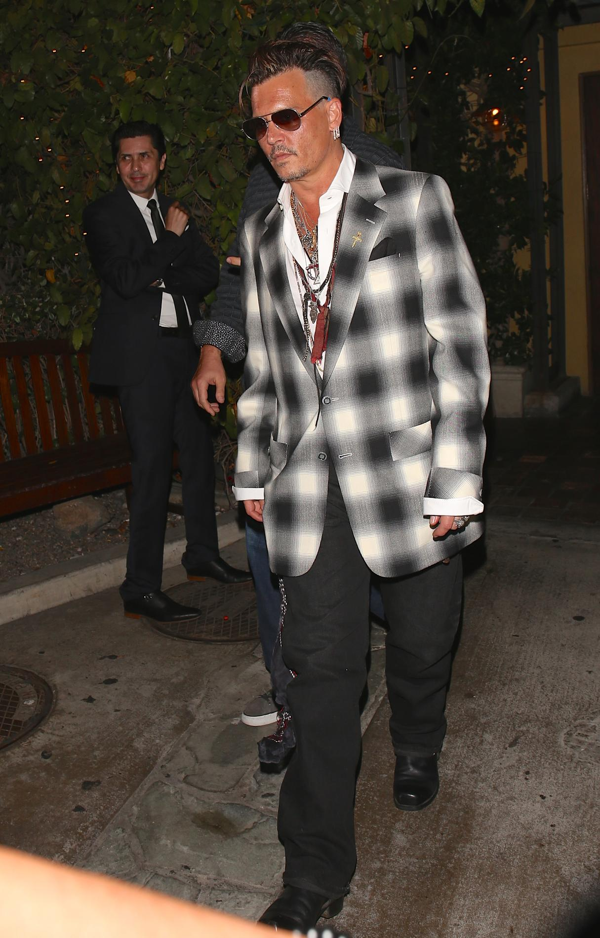 Johnny Depp Modifie Un Tatouage Pour Insulter Amber Heard Madame