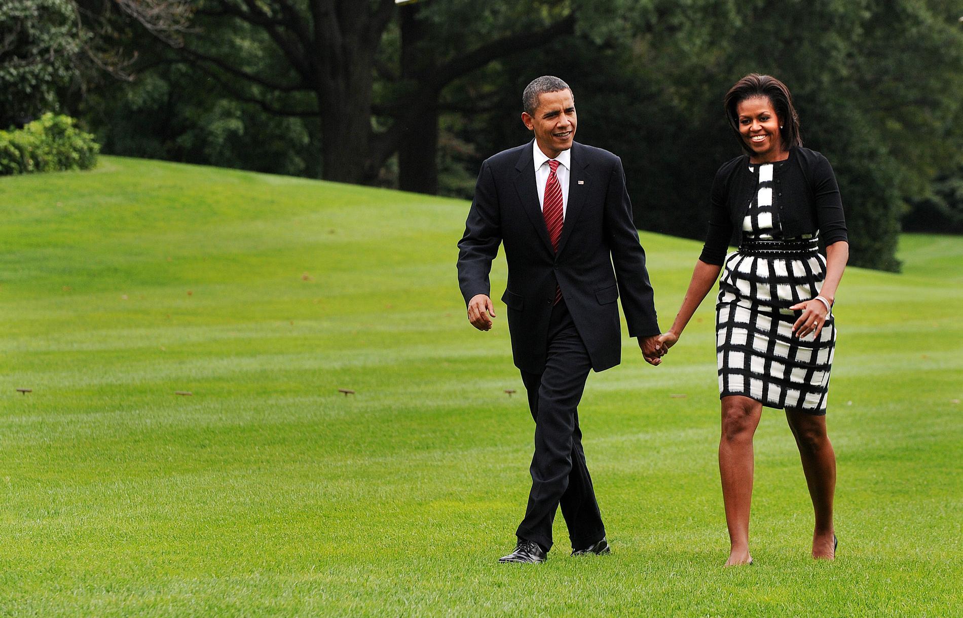 rencontre barack michelle obama