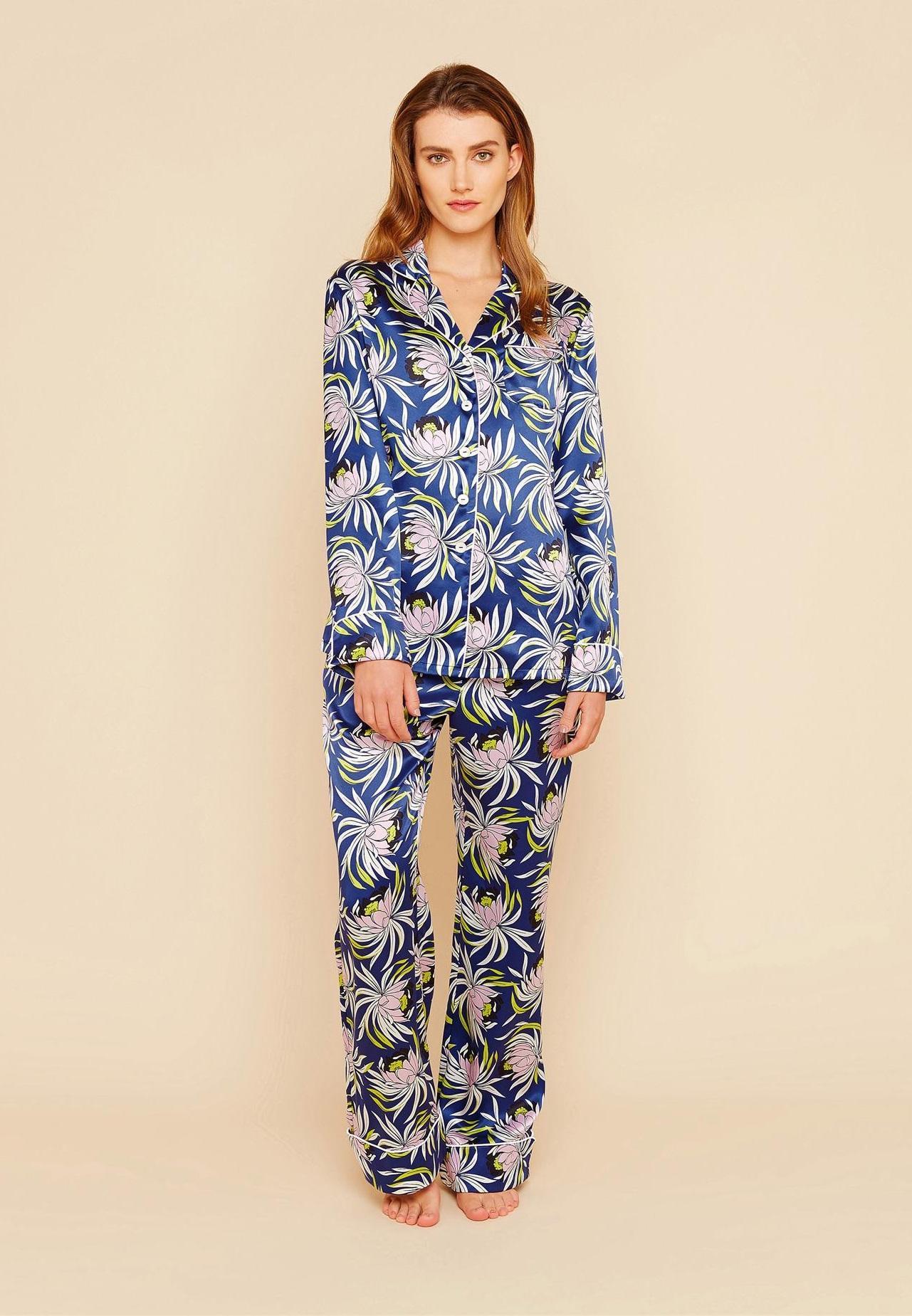 ... Ces pyjamas qu on ose porter en ville   Olivia Von Halle ... 0a075fdbc98