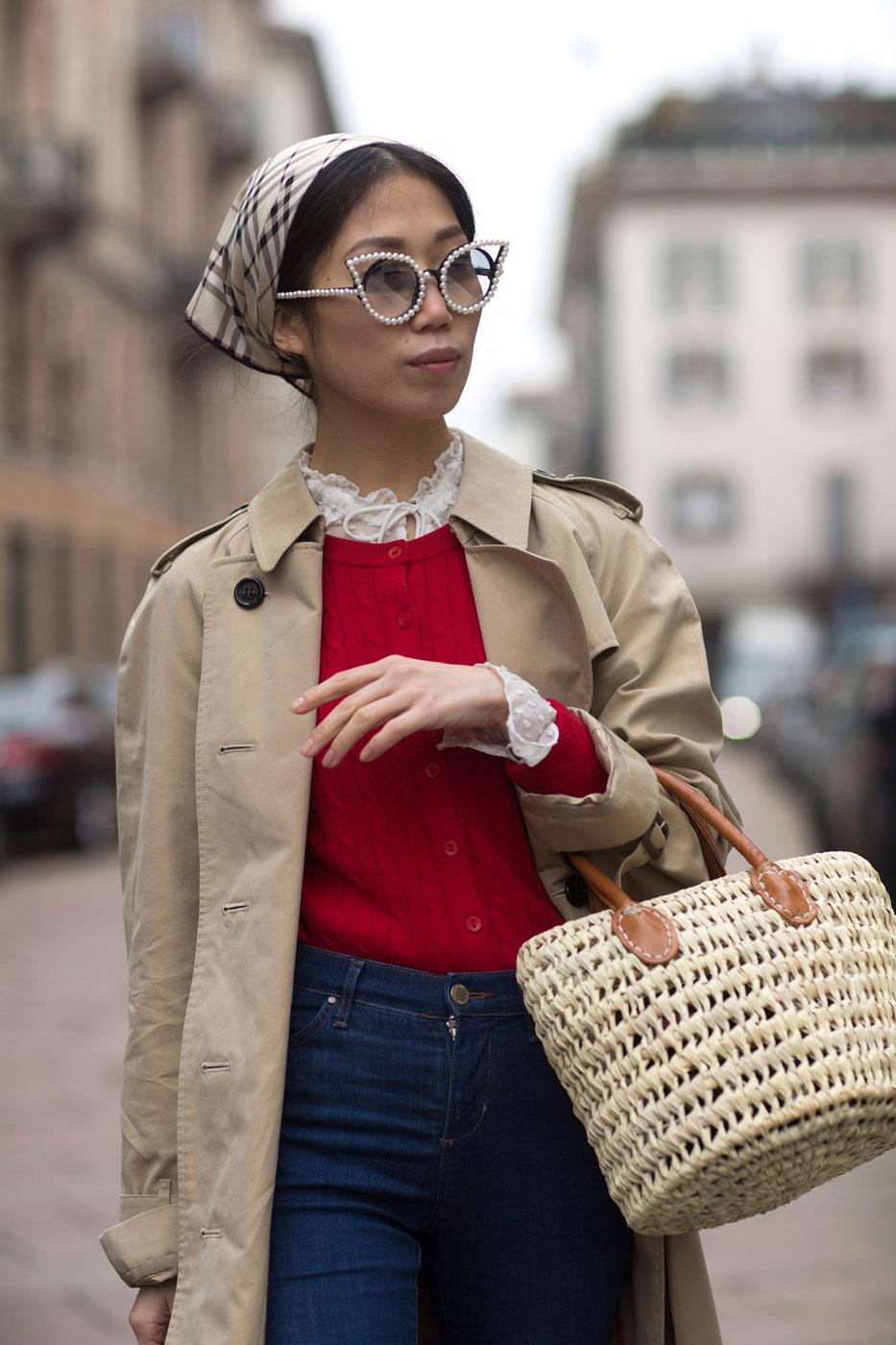 Comment continuer à porter le foulard de notre été   - Madame Figaro cd04a8274e8