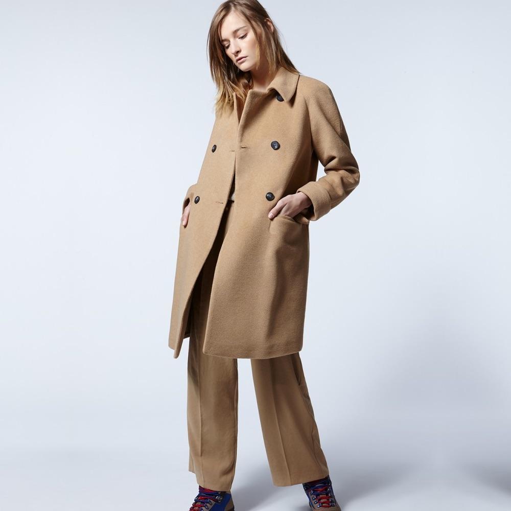 ... Des manteaux classiques, intemporels et chics   American Vintage ... 81b7f4a77b45