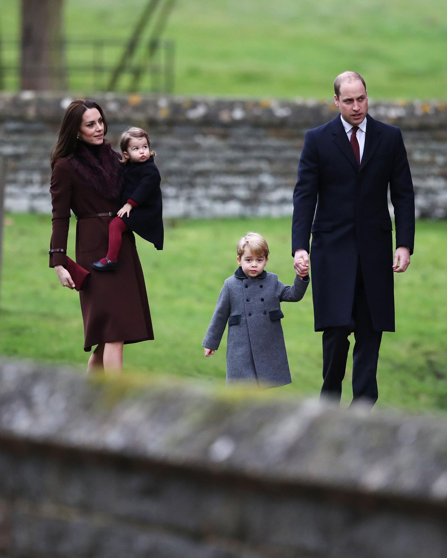 demenagement kate et william